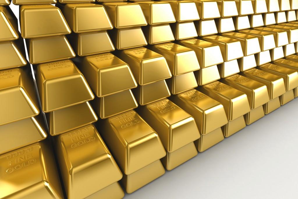 Image of gold bullions