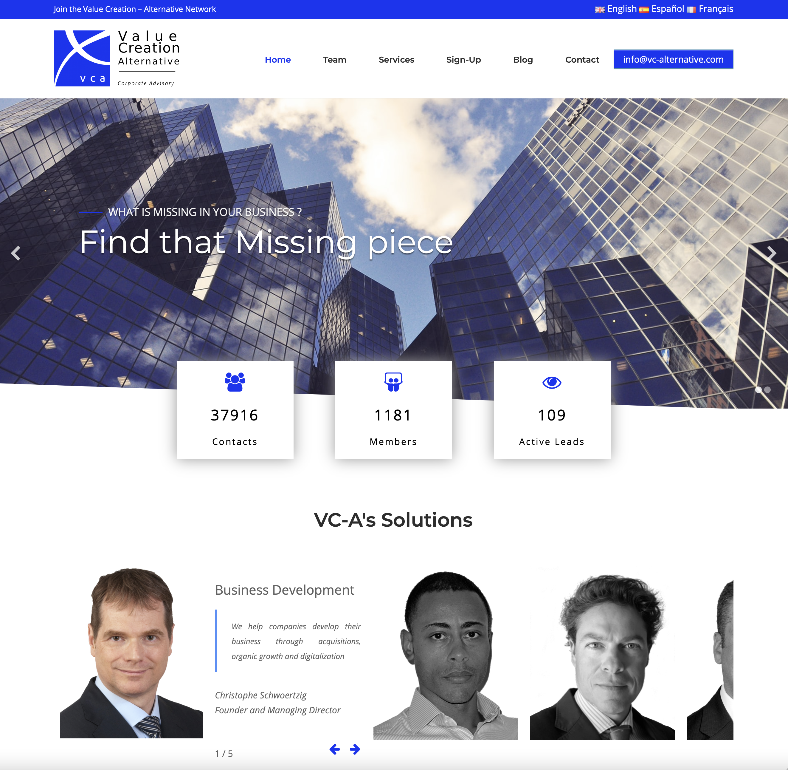 VC-A Website